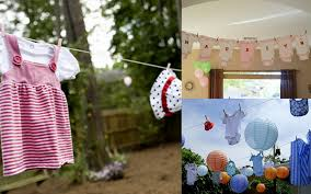 Outdoor baby shower ideas best baby decoration clothesline baby shower  create my event ptc cofo Images