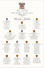 Seating Chart Royal Wedding Coat Of Arms King Arthurs Court Monogram Wedding Seating