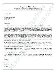 Sample Assistant Principal Cover Letter Resume Example Collection