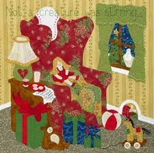 Come Quilt (Sue Garman): Twas the Night Before Christmas.... & (can you see the little mouse sleeping in his hole?) Adamdwight.com