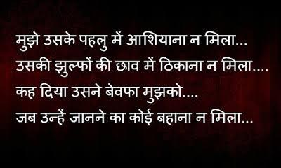 punjabi love shayari in hindi language