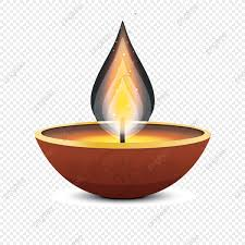 Beautiful Diwali Candle Element Diwali Festival Candles Table