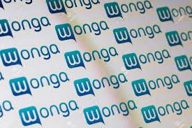 London Uk August 28th 2018 Wonga Payday Lender Logo On A
