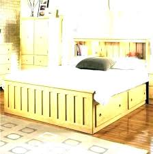 Delightful Mission Style Bed Frame Queen Size California King ...