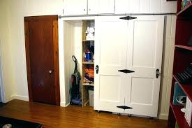 barn hanging closet doors sliding home depot canada ceiling mounted door designs mount track with idea