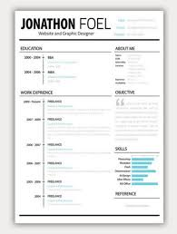 Nice Resume Templates Gorgeous Amazing Resumes 28 Collection Of Free Cv Resume Templates Resume