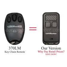 garage door opener remote keychain. LiftMaster 370LM Compatible 315 MHz Security+ 3 Button Garage Door Opener Key Chain Remote Keychain O