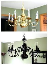 amazing brass chandelier makeover or 97 old brass chandelier makeover