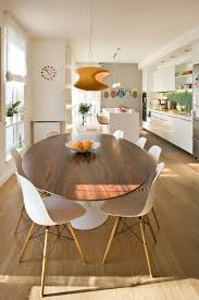 modern dining table with traditional chairs. modern entryway table dining room contemporary with white vases molded plastic eames chair tulip traditional chairs