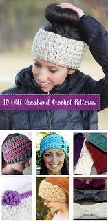Crochet Headband Pattern Magnificent FREE Crochet Headband Patterns Crafty Tutorials