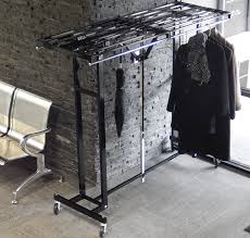 Portable Folding Coat Rack Amazing FlexibilityEasily Folds Up and Rolls Away 8