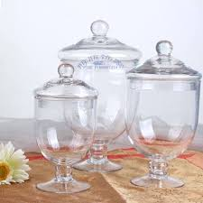 decorative glass jars a glass jar with lid decoration glass candy jars of transpa glass storage