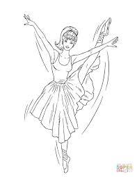 Ballerina Barbie Kleurplaat Gratis Kleurplaten Printen