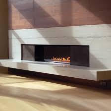 Fire Ribbon Direct Vent Single Vu  Spark Modern FiresSpark Fireplace