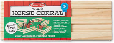 wooden horse corral