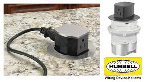 hubbell countertop receptacles