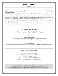 Objective For A Teacher Resume Teaching Intended 25 Exciting How