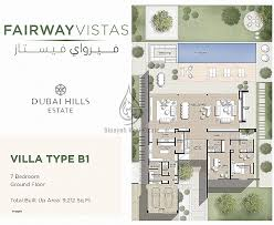 Arabic house designs and floor plans fresh fairway vistas villa type b1 7 bedroom floor plan