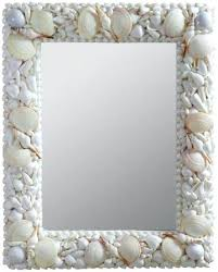 Shell Bathroom Mirrorbathroom Mirror Wall Shell Mosaic Tile Capiz