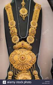 Gold Haar Design With Price Gold Necklace Dubai Stock Photos Gold Necklace Dubai Stock