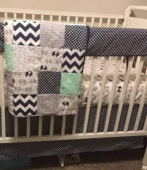 baby boy crib bedding set elephant baby