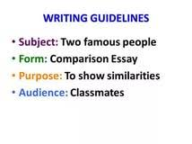 compare two people essay aim and hypothesis help thesis compare two people essay