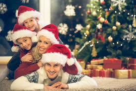 family christmas pictures ideas.  Christmas Family Pile With Santa Hats To Christmas Pictures Ideas H