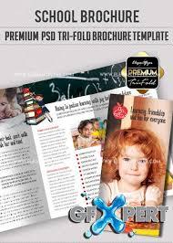 School Brochure Templates Free | Trattorialeondoro