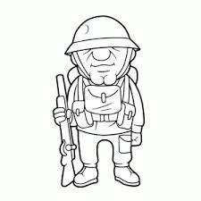 Kleurplaat Soldaten Met Geweer Soldaten Kleurplaten Leuk Voor Kids