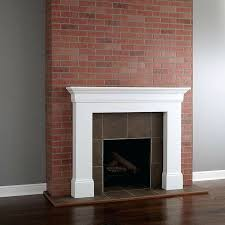 painting red brick fireplace painting a brick fireplace the home depot blog for images of brick