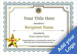 award certificates template free certificate templates simple to use add printable badges medals