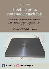 Daftar harga laptop asus sering mengalami naik turun. Boss Laptop Local Business Tangerang Facebook 144 Photos