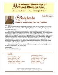 NHBW Joliet Chapter October '17 Newsletter by Deborah Summers - issuu