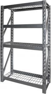 gorilla flexi rack 4 grid wire shelves 104 x 43 x 183 cm grl flex361772n souq uae