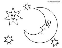 Small Picture Emejing Coloring Pages Stars Moons Images New Printable Coloring