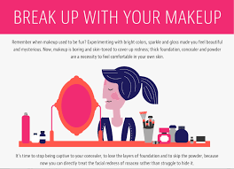 mirvaso challenges you to break up with your makeup