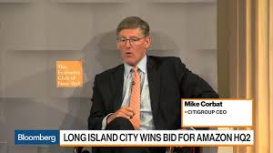 Citigroup Isn't Changing New York Headcount for Amazon Move, CEO Corbat  Says - Video - BNN