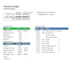 Excel Biweekly Budget Template Blank Budget Template Excel Bi Weekly Home Expenses Simple