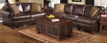 Walnut Furniture Living Room Buy Ashley Furniture 4200038 4200035 Set Axiom Walnut Living Room