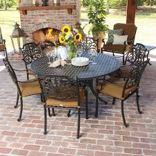 round outdoor dining sets for 6 room ideas