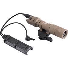 Surefire Ir Weapon Light Surefire M323v Vampire Ir White Scout Light Weapon Light With Remote Switch And Throw Lever Mount Tan