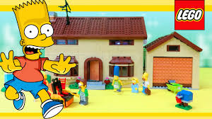 Lego Wallpaper For Bedroom Walls Lego Simpsons 71006 The Simpsons House Review Youtube