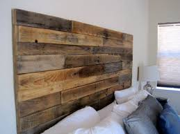 Reclaimed Wood Headboard by ELKdesignco on Etsy