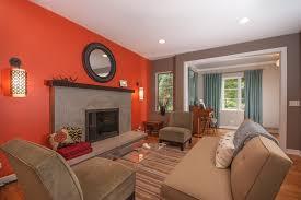 Burnt Orange And Brown Living Room Property Unique Inspiration Design