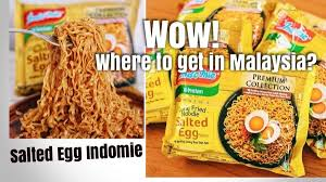 Salted Egg Indomie Found In Malaysia Miri City Sharing