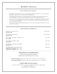 Resume Format For Hotel Job Interview Profesional Resume Template