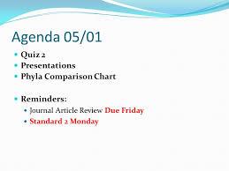 Animal Phyla Comparison Chart Standard 2 Invertebrates Ms Darlak Ppt Video Online Download