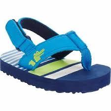 Walmart Flip Chart Details About Walmart Brand Flip Flop Sandals W Adjustable Back Boys Size 4 Alligator