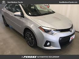 2015 Used Toyota Corolla 4dr Sedan CVT S Plus at East Madison ...