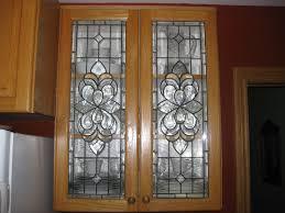 Kitchen Ideas Stained Glass Window Cabinet Door Styles Glass